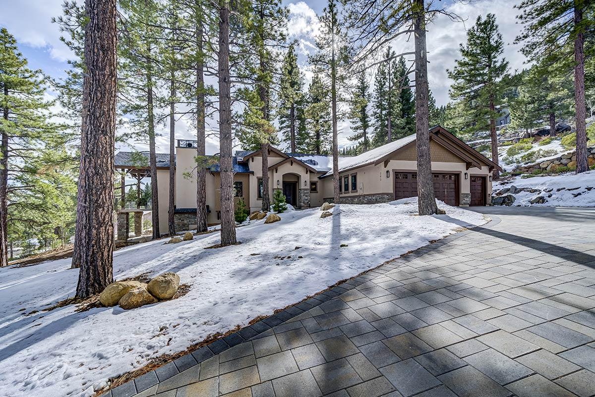 BRG Homes Custom Home Exterior